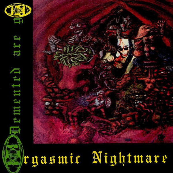 Demented Are Go - Orgasmic Nightmare (LP, Album, Ltd, RE, Red) - NEW