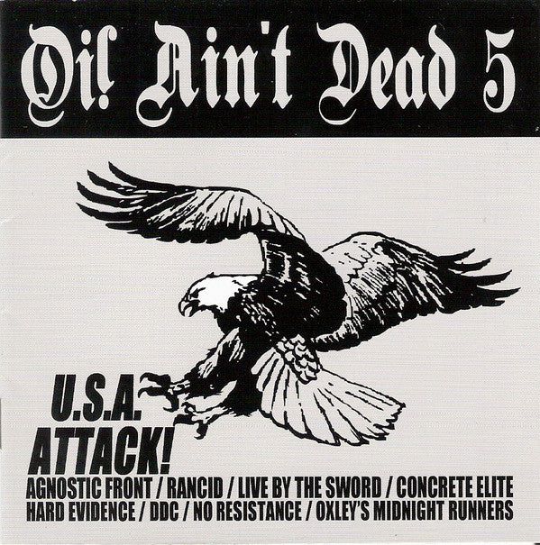 Various - Oi! Ain't Dead 5 (U.S.A. Attack!) (CD, Comp) - NEW