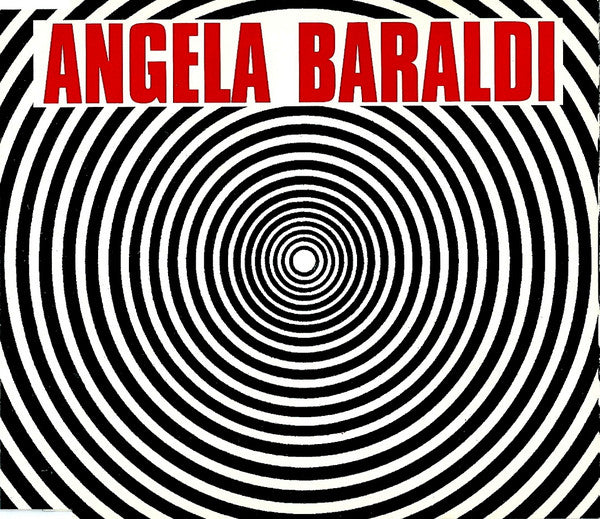 Angela Baraldi - Vortice (CD, Single) - USED