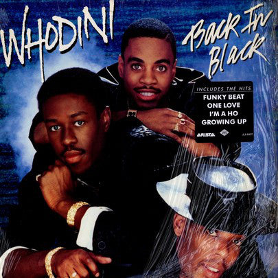 Whodini - Back In Black (LP, Album) - USED
