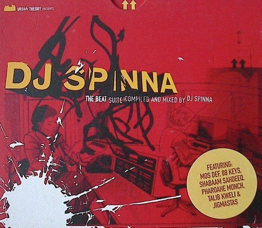 DJ Spinna - The Beat Suite (CD, Comp + CD, Mixed) - USED