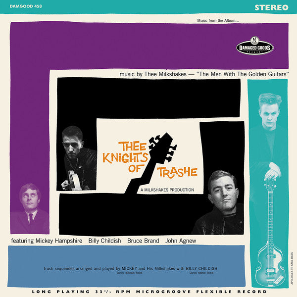 Thee Milkshakes - Thee Knights Of Trashe (LP, Album, RE) - NEW