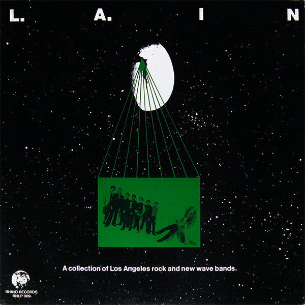 Various - L.A. In: A Collection Of Los Angeles Rock And New Wave Bands (LP, Comp) - USED