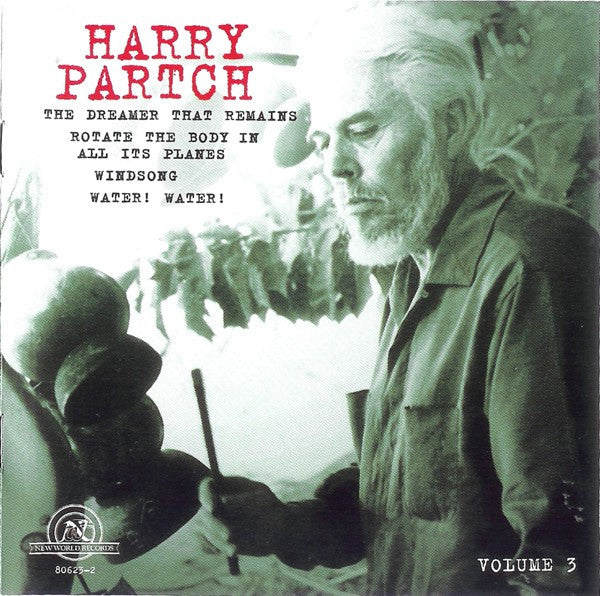Harry Partch - The Harry Partch Collection Volume 3 (CD, Comp) - USED