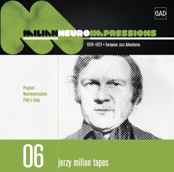 Jerzy Milian - Neuroimpressions (CD, Album, Comp) - NEW