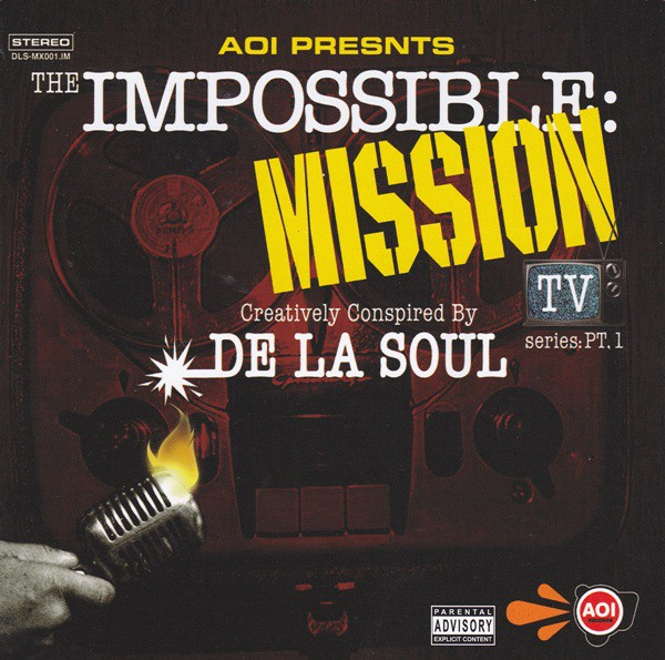 De La Soul - The Impossible: Mission TV Series: Pt. 1 (CD, Album) - NEW