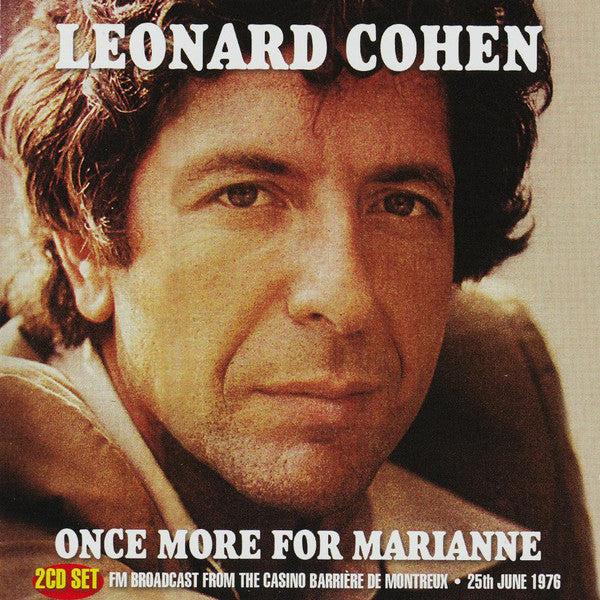 Leonard Cohen - Once More For Marianne (2xCD, Album, Unofficial) - USED