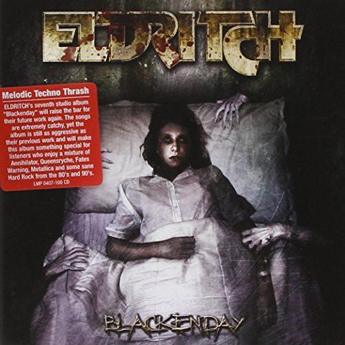 Eldritch - Blackenday (CD, Album) - NEW