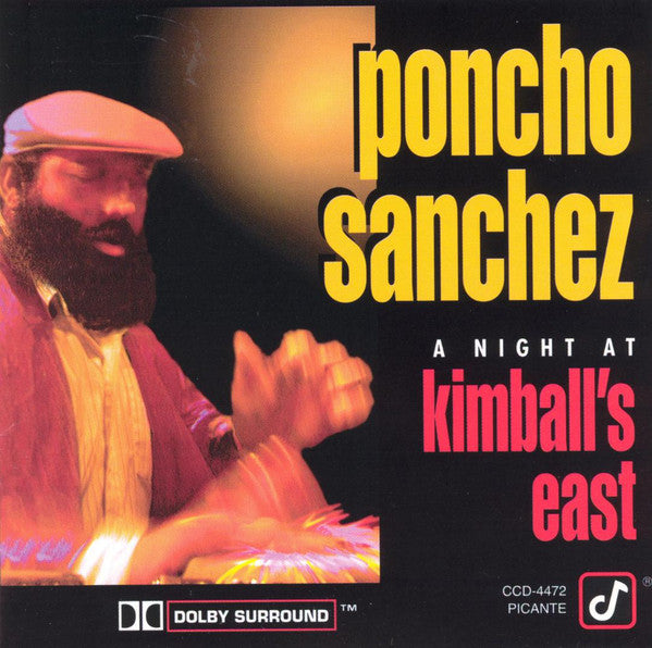 Poncho Sanchez - A Night At Kimball's East (CD, Album) - USED