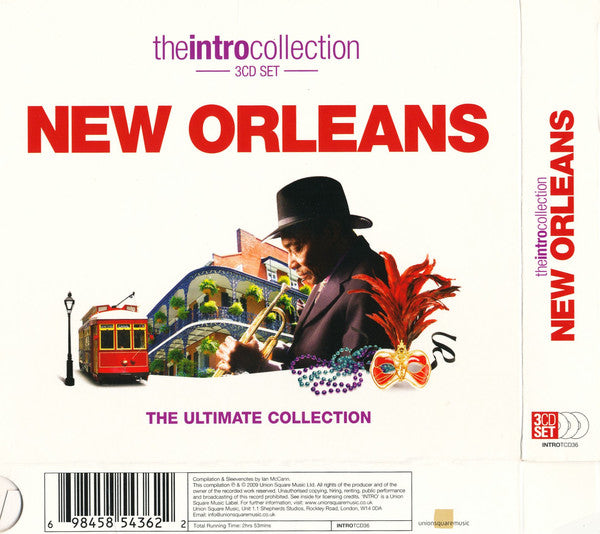 Various - New Orleans (3xCD, Comp) - USED
