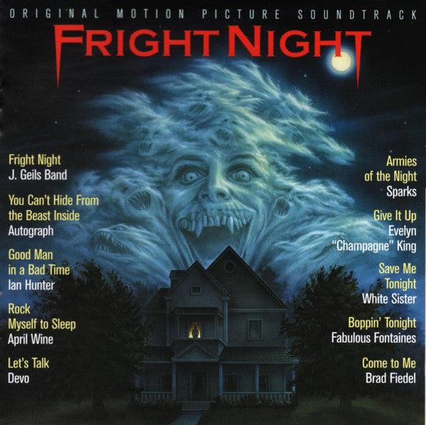 Various - Fright Night (Original Motion Picture Soundtrack) (CD, Album, RE) - NEW