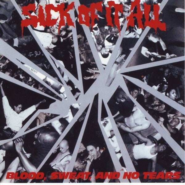 Sick Of It All - Blood, Sweat And No Tears (CD, Album, Promo, RE) - NEW