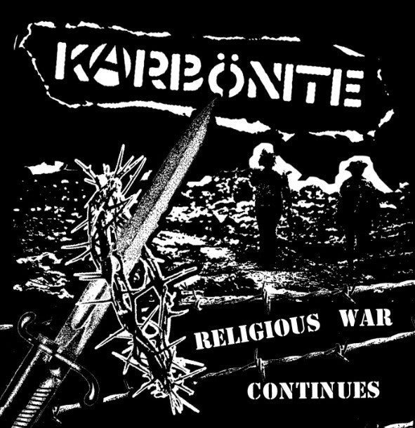 "Karbönite - Religious War Continues (Flexi, 7"", S/Sided, EP) - NEW"