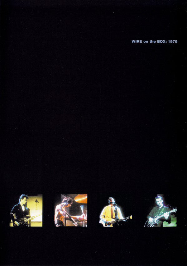 Wire - On The Box: 1979 (CD + DVD-V, NTSC) - NEW