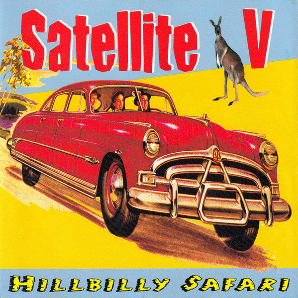 Satellite V - Hillbilly Safari (CD, Album) - USED
