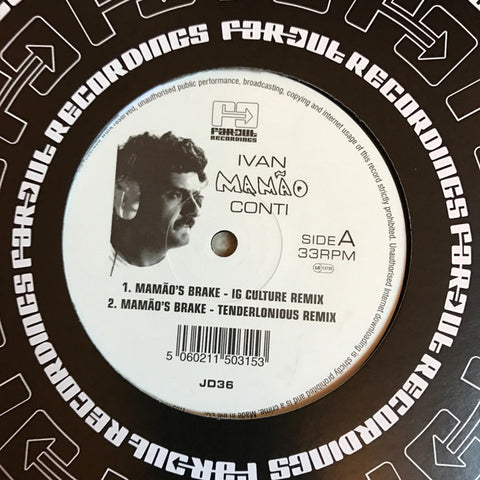 "Ivan Mamão Conti* - Mamão's Brake (12"", Single, Ltd) - USED"
