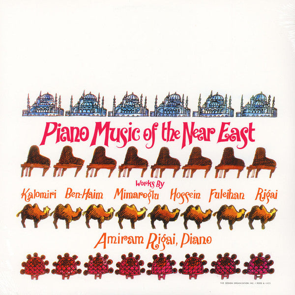 Various - Piano Music Of The Near East (LP, Comp, Ltd, Num, RE, Unofficial, 180) - NEW