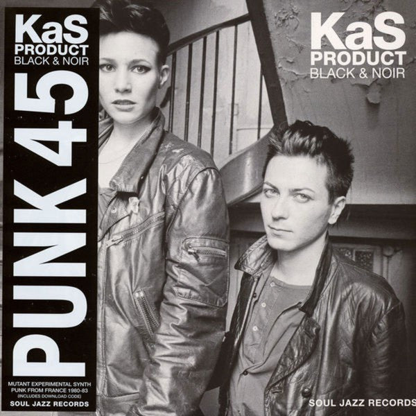 Kas Product - Black & Noir (Mutant Experimental Synth Punk From France 1980-83) (LP, Comp, Ltd, RE) - NEW