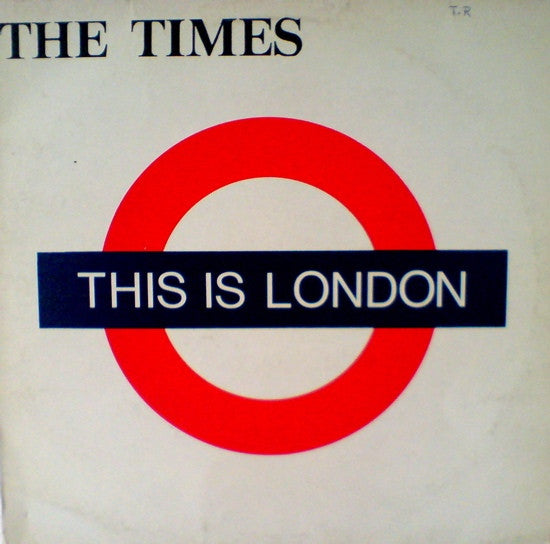 The Times - This Is London (LP, Album) - USED