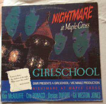 Girlschool - Nightmare At Maple Cross (LP, Album) - USED