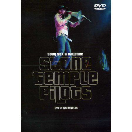 Stone Temple Pilots - Sour Sex & Violence Live In Los Angeles 2000 (DVD, Comp, Unofficial) - USED