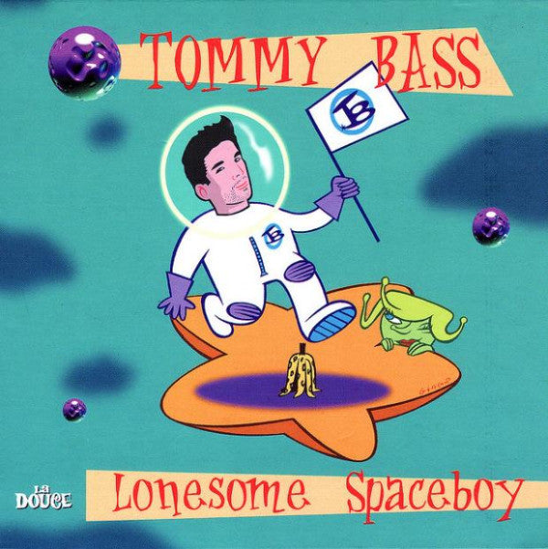 Tommy Bass - Lonesome Spaceboy (CD, Album) - USED