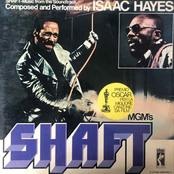 Isaac Hayes - Shaft (2xLP, Album) - USED