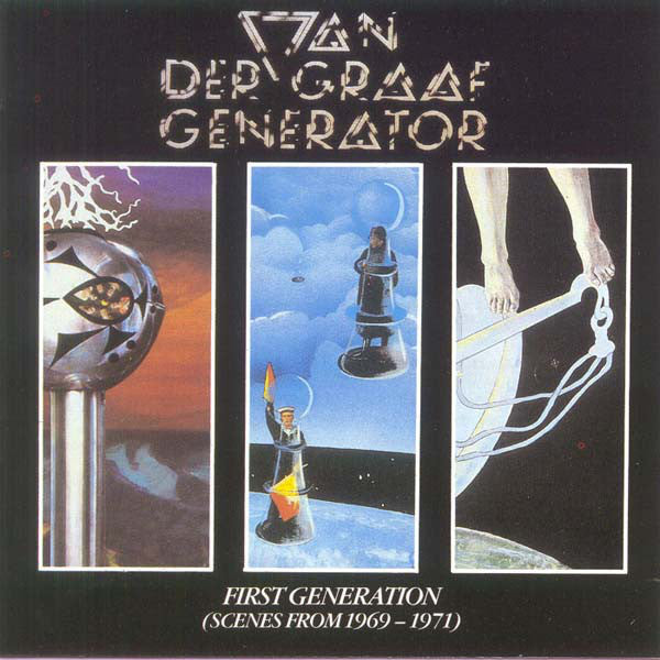 Van Der Graaf Generator - First Generation (Scenes From 1969-1971) (CD, Comp) - USED