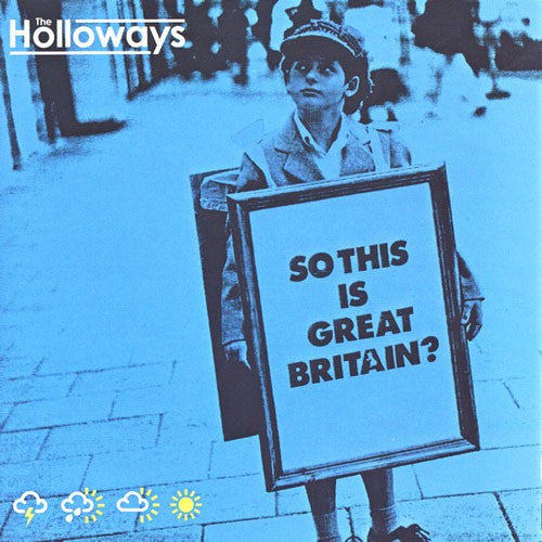 The Holloways - So This Is Great Britain? (CD, Album, Enh) - USED