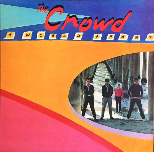 The Crowd (4) - A World Apart (LP, Album, Ltd, RE, 180) - NEW