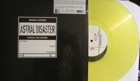 Coil - Astral Disaster (LP, Album, Ltd, RE, Yel) - NEW