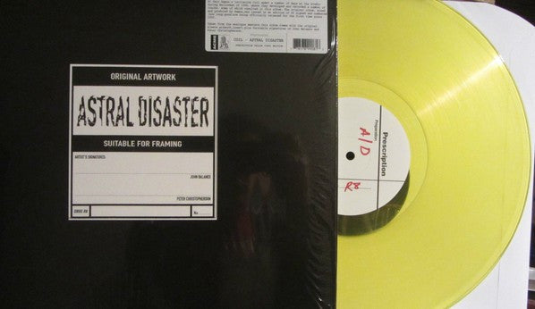 Coil - Astral Disaster (LP, Album, RE, Yel) - NEW