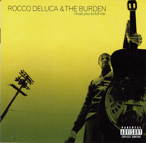 Rocco Deluca & The Burden - I Trust You To Kill Me (CD, Album, Enh, S/Edition) - NEW