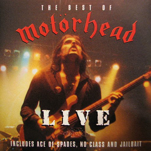 Motörhead - The Best Of Motorhead LIVE (CD, Album, Comp) - USED