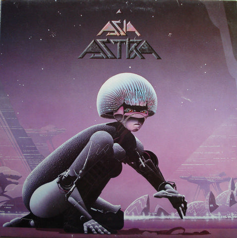 Asia (2) - Astra (LP, Album) - USED