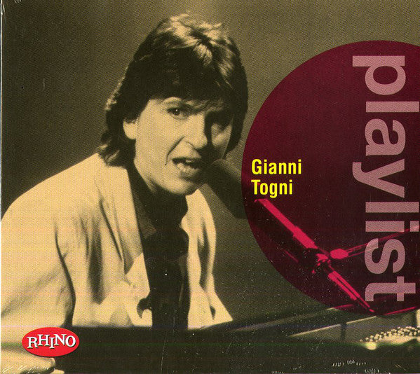 Gianni Togni - Playlist (CD, Comp) - USED