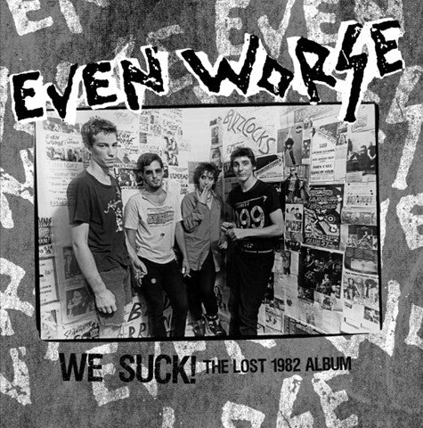 Even Worse - The Lost Album (LP, 180gr, NEW) ***RADIATION DELUXE