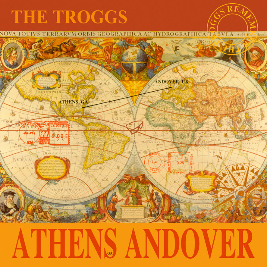 THE TROGGS (w/ members of R.E.M.) – Athens Andover (LP, RSD 2019, 180gr, LIMITED 500) - NEW