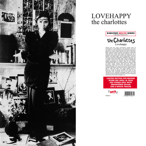 CHARLOTTES - LOVEHAPPY (+ BONUS TRACKS) (LP, 180GR, LIMITED, RSD2020) - NEW