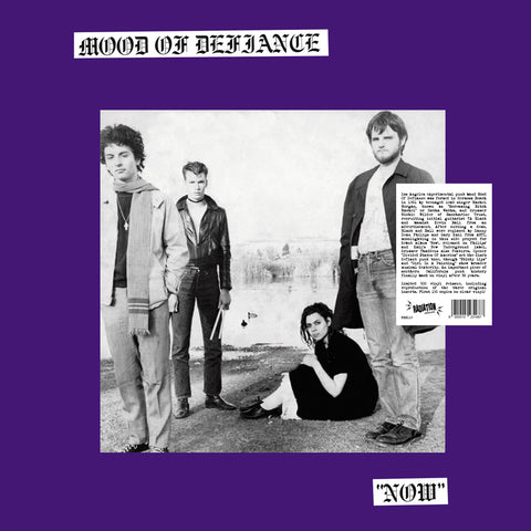 MOOD OF DEFIANCE - NOW (LP, Reissue, BLACK VINYL, LIMITED 350) *pre order* ships April 10th