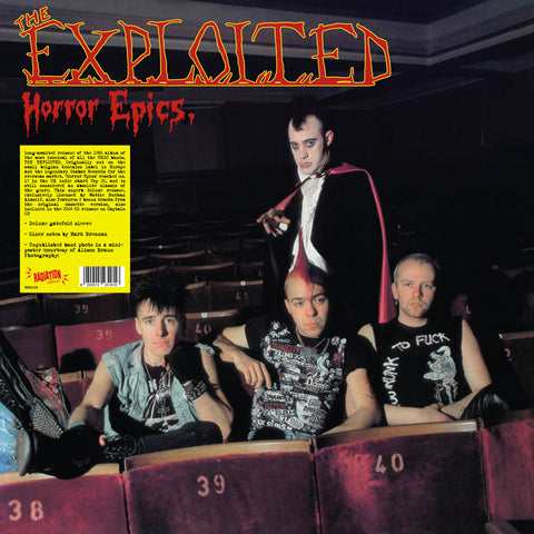 The Exploited - Horror Epics (LP, Album, RE)