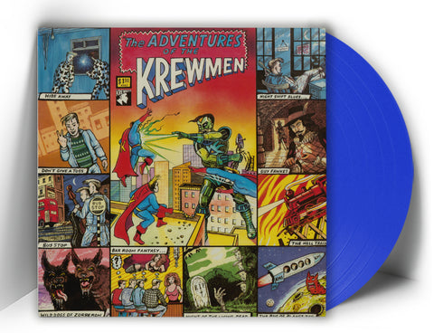 The Krewmen ‎– The Adventures Of The Krewmen (LP, reissue, + POSTER, COLOR VINYL 100 only!) - NEW