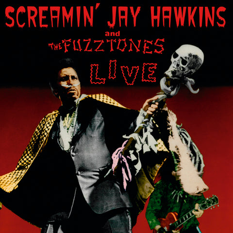 Screamin' Jay Hawkins & Fuzztones - Live (LP, RSD 2019, Ltd, Num, SPLATTER vinyl) - NEW