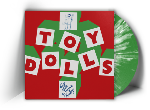 TOY DOLLS - DIG THAT GROOVE BABY  (LP, Album, RE, SPLATTER VINYL 150 ONLY) - NEW