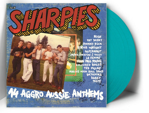 Various ‎– Sharpies (14 Aggro Aussie Anthems From 1972 To 1979) LP COLOR VINYL 100 only! - NEW