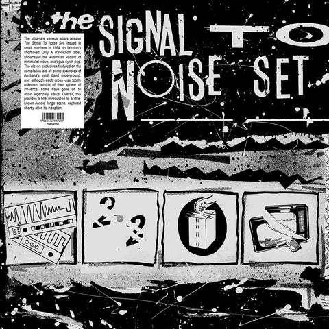 Various Artists: The Signal To Noise Set  (LP, 180gr reissue) - NEW