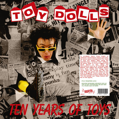 TOY DOLLS - TEN YEARS OF TOYS (LP, album, RE) - NEW