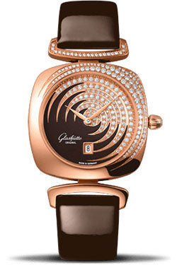 Glashutte Original,Glashutte Original - Ladies Collection - Pavonina Red Gold - Brown - Watch Brands Direct