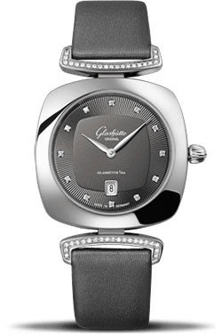 Glashutte Original,Glashutte Original - Ladies Collection - Pavonina Steel - Grey - Watch Brands Direct