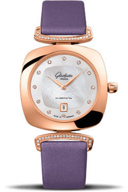 Glashutte Original,Glashutte Original - Ladies Collection - Pavonina Red Gold - Mother of Pearl - Watch Brands Direct